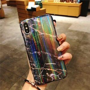 ⚠️LAST NEW iPhone XS/X/Aurora Marble case